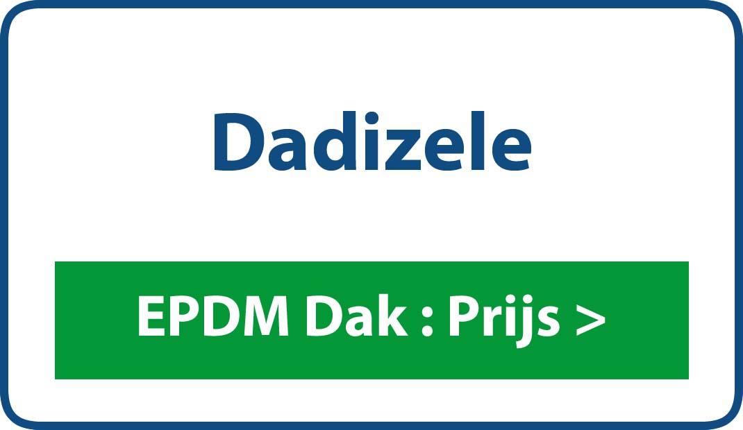 EPDM dak Dadizele