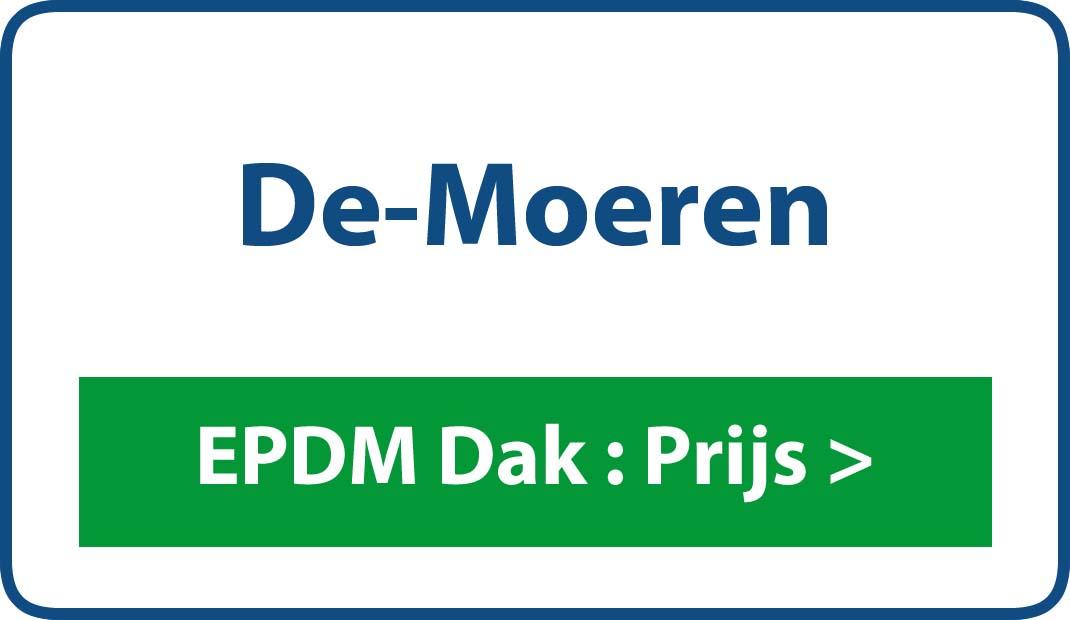 EPDM dak De Moeren