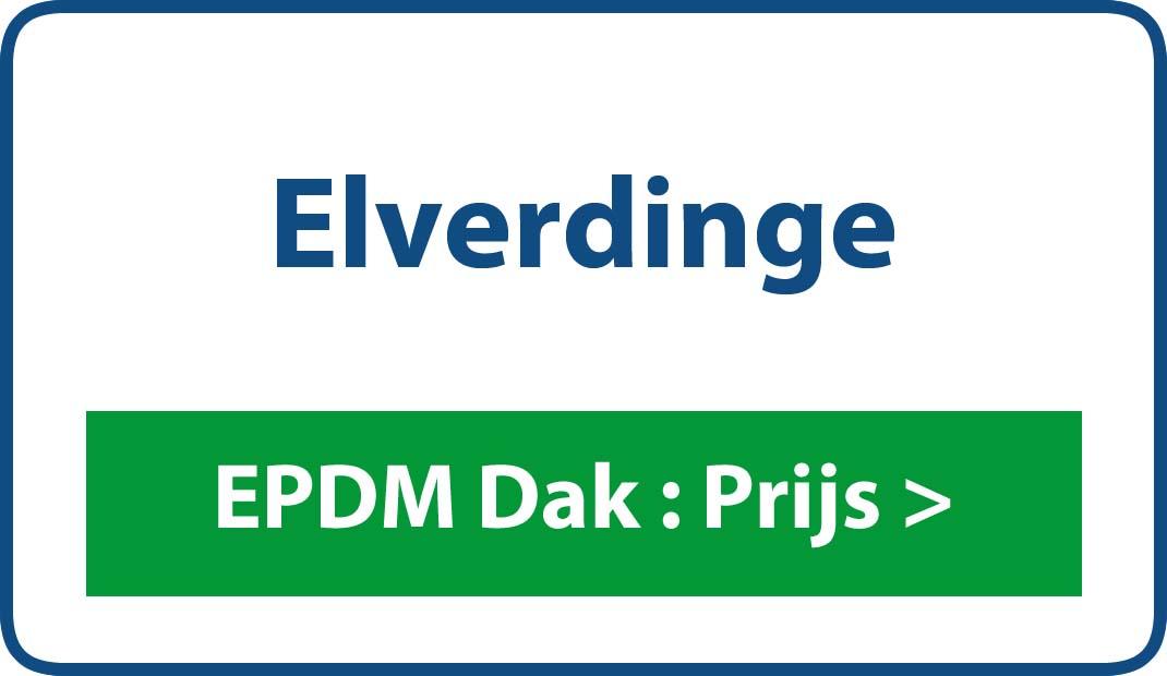 EPDM dak Elverdinge