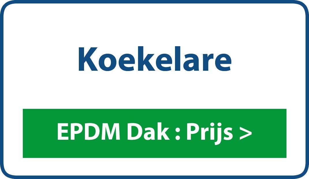 EPDM dak Koekelare