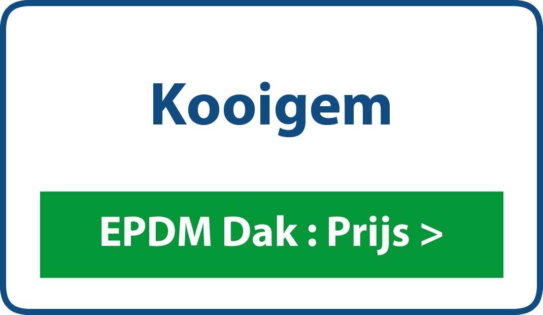 EPDM dak Kooigem