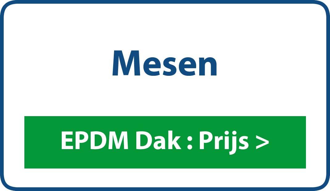 EPDM dak Mesen