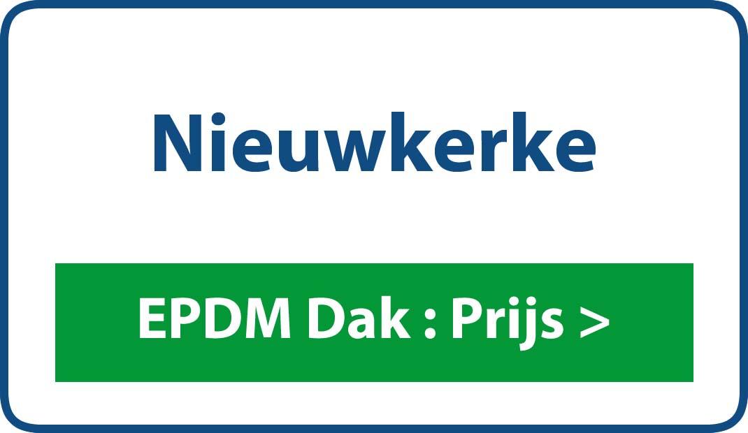 EPDM dak Nieuwkerke