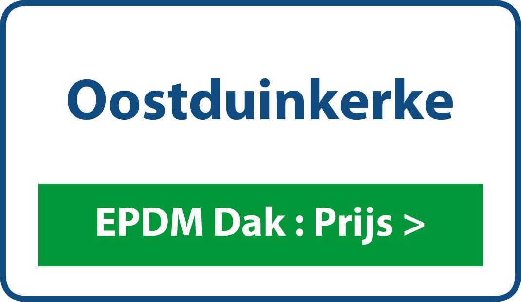 EPDM dak Oostduinkerke