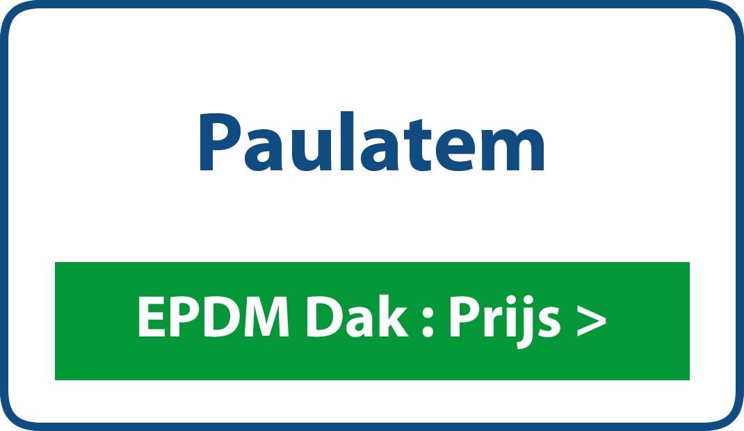 EPDM dak Paulatem