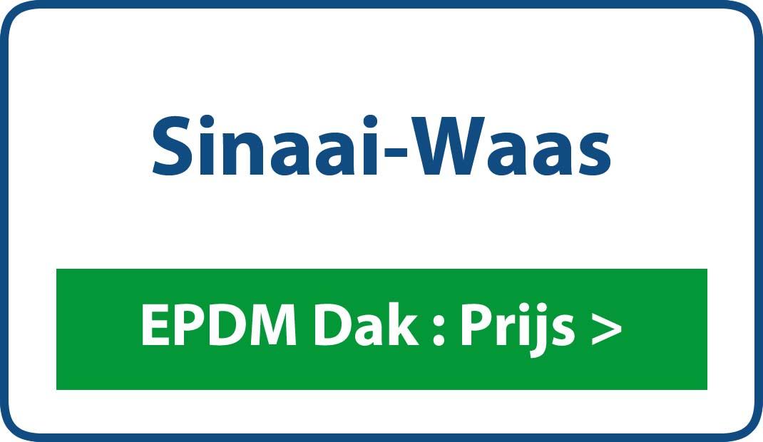 EPDM dak Sinaai-Waas