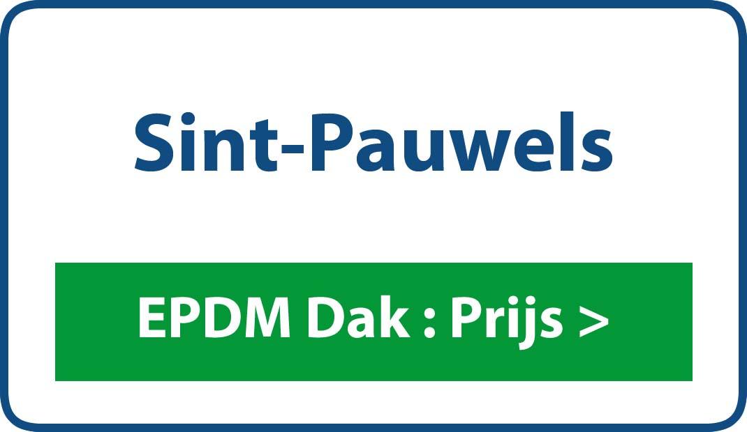 EPDM dak Sint-Pauwels