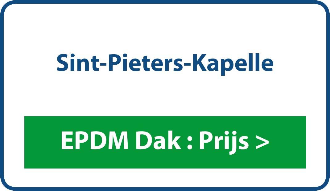 EPDM dak Sint-Pieters-Kapelle