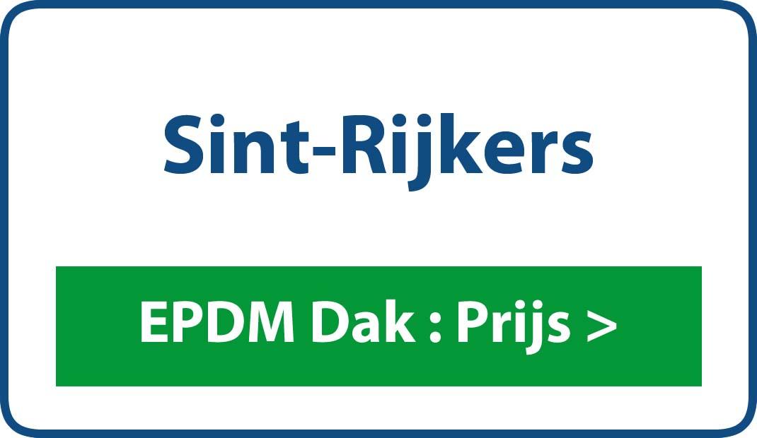 EPDM dak Sint-Rijkers