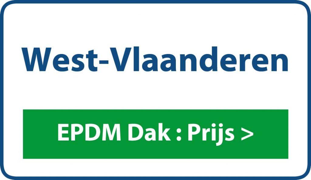 EPDM West-Vlaanderen dak prijs