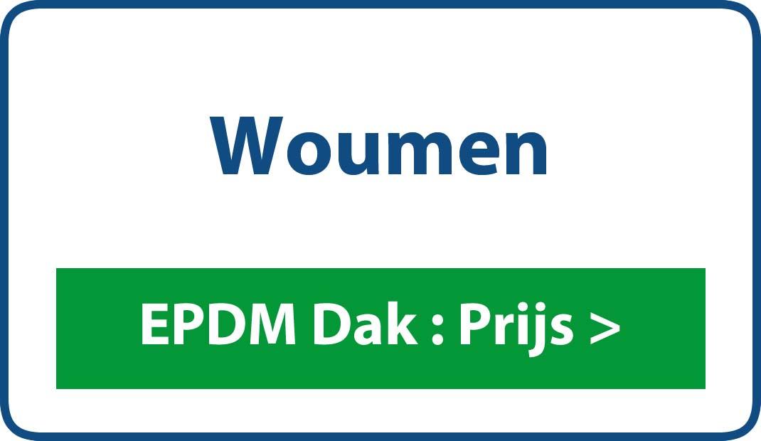 EPDM dak Woumen