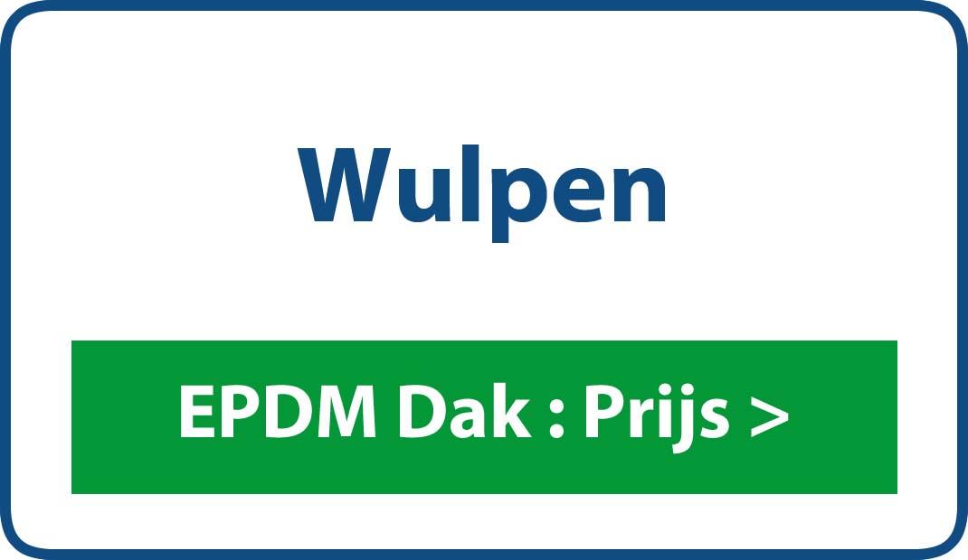 EPDM dak Wulpen