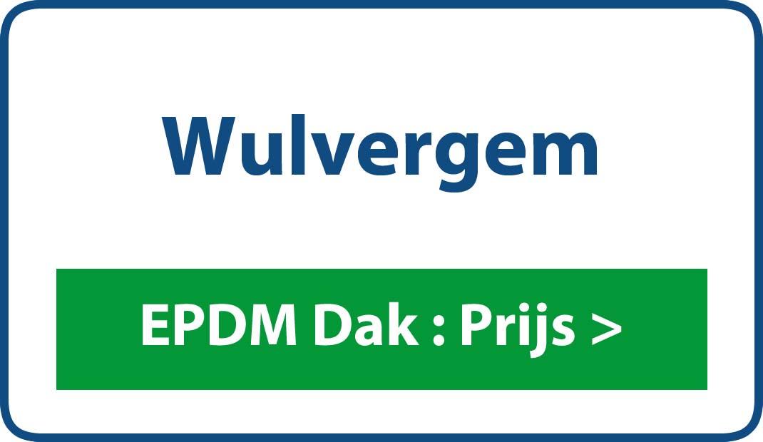 EPDM dak Wulvergem