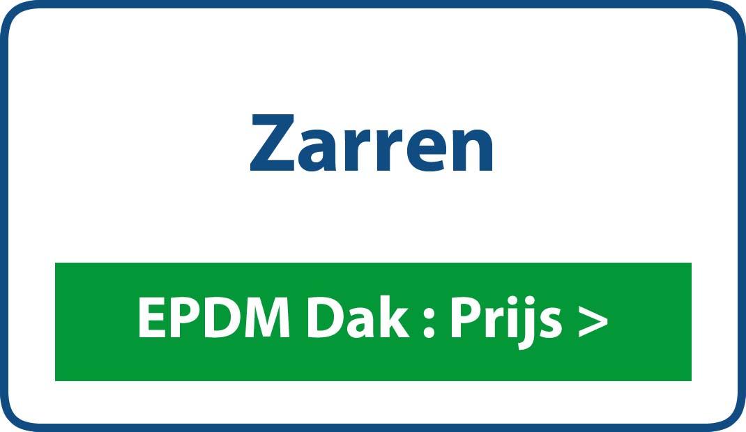 EPDM dak Zarren