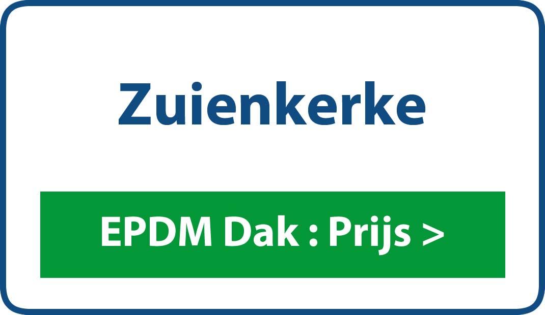 EPDM dak Zuienkerke