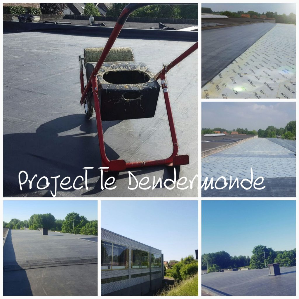 EPDM dak Dendermonde